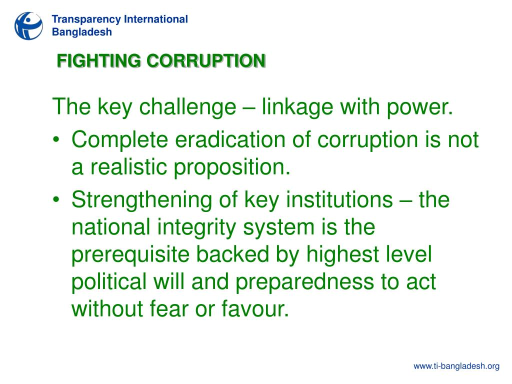 PPT - Measuring Corruption in Bangladesh: Can Communication