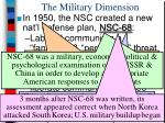 the military dimension1
