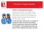 transition program models5