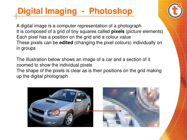 Digital imaging photoshop