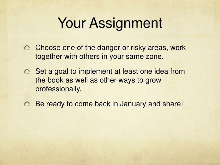 Your Assignment