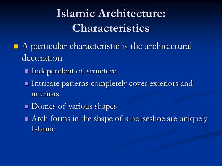 Ppt Islamic Architecture Powerpoint Presentation Id