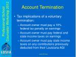 account termination1