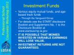 investment funds1