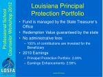 louisiana principal protection portfolio