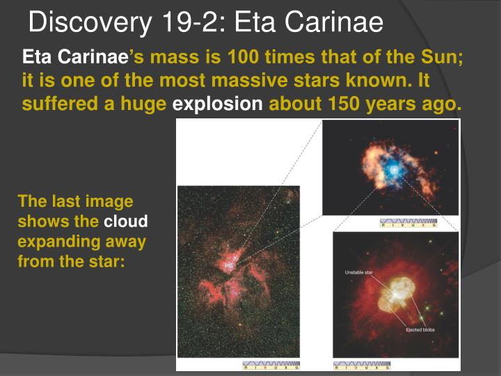 Discovery 19-2: Eta Carinae