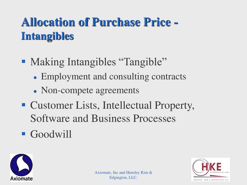 Allocation of Purchase Price -