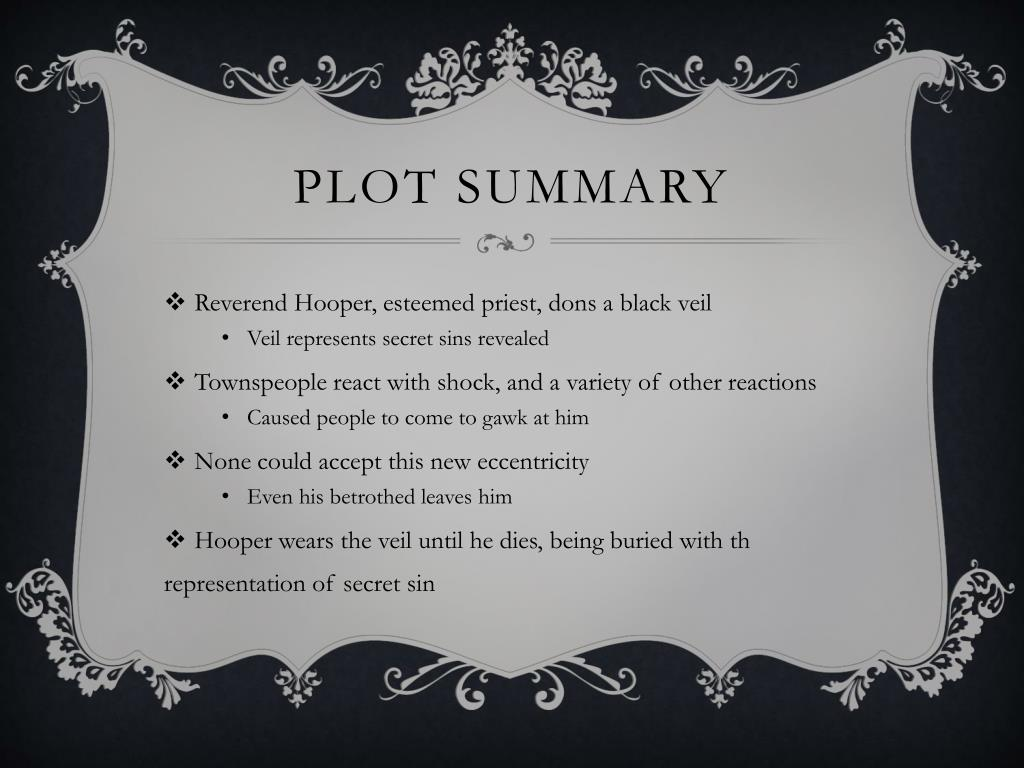 Ppt The Minister S Black Veil Powerpoint Presentation Free Download Id 1411927