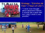 strategy estrelas de vida stars of life