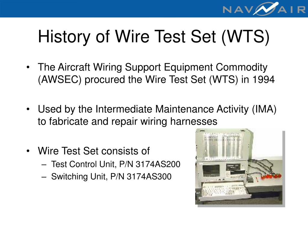 History of Wire Test Set (WTS)