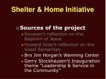 shelter home initiative5