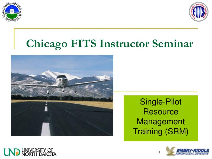 chicago fits instructor seminar n.