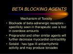 beta blocking agents1
