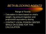 beta blocking agents3