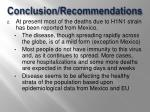 conclusion recommendations1