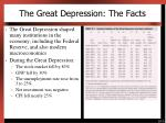 the great depression the facts