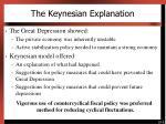 the keynesian explanation1