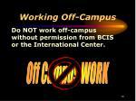 working off campus1