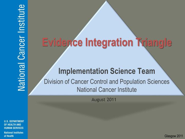 evidence integration triangle n.