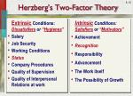 herzberg s two factor theory1