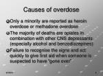causes of overdose
