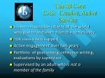 the ib core cas creative active service