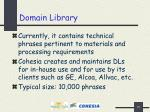 domain library