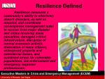 resilience defined