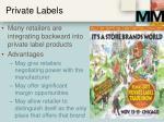private labels
