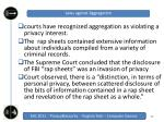 laws against aggregation