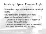 relativity space time and light3