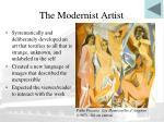the modernist artist