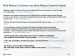 what netezza s customers say about netezza customer support4