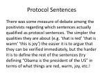 protocol sentences1