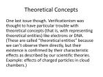 theoretical concepts