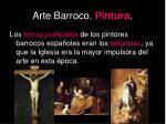 arte barroco pintura