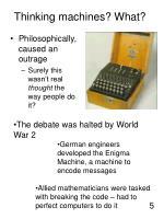 thinking machines what