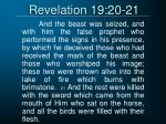 revelation 19 20 21