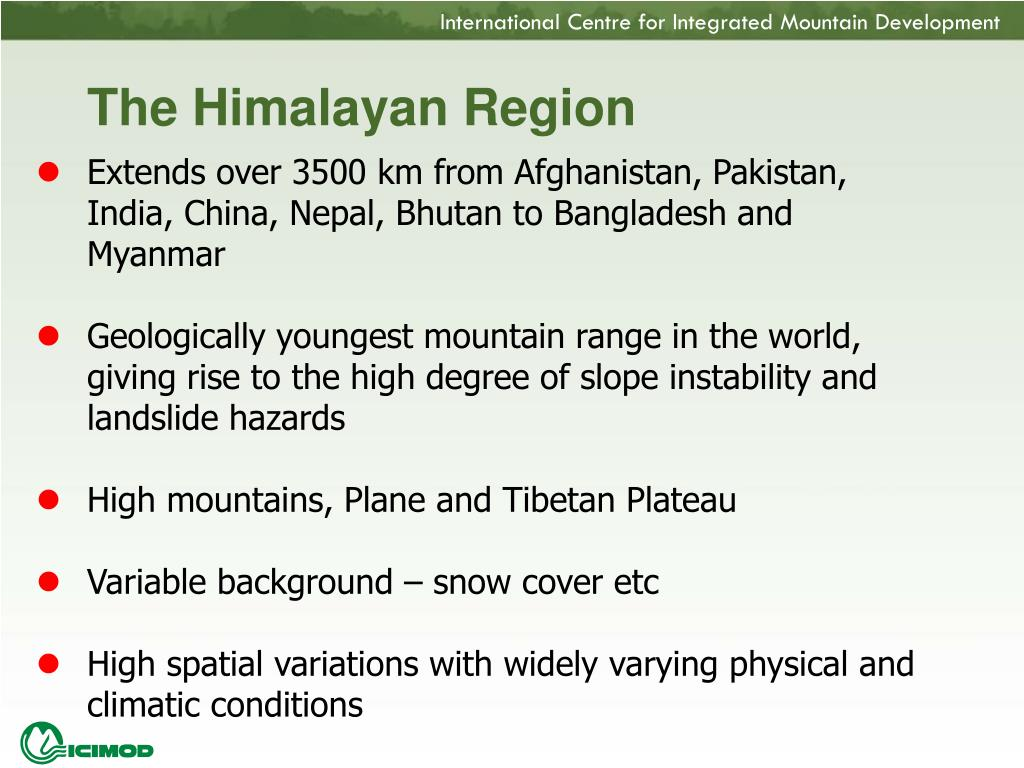 The Himalayan Region