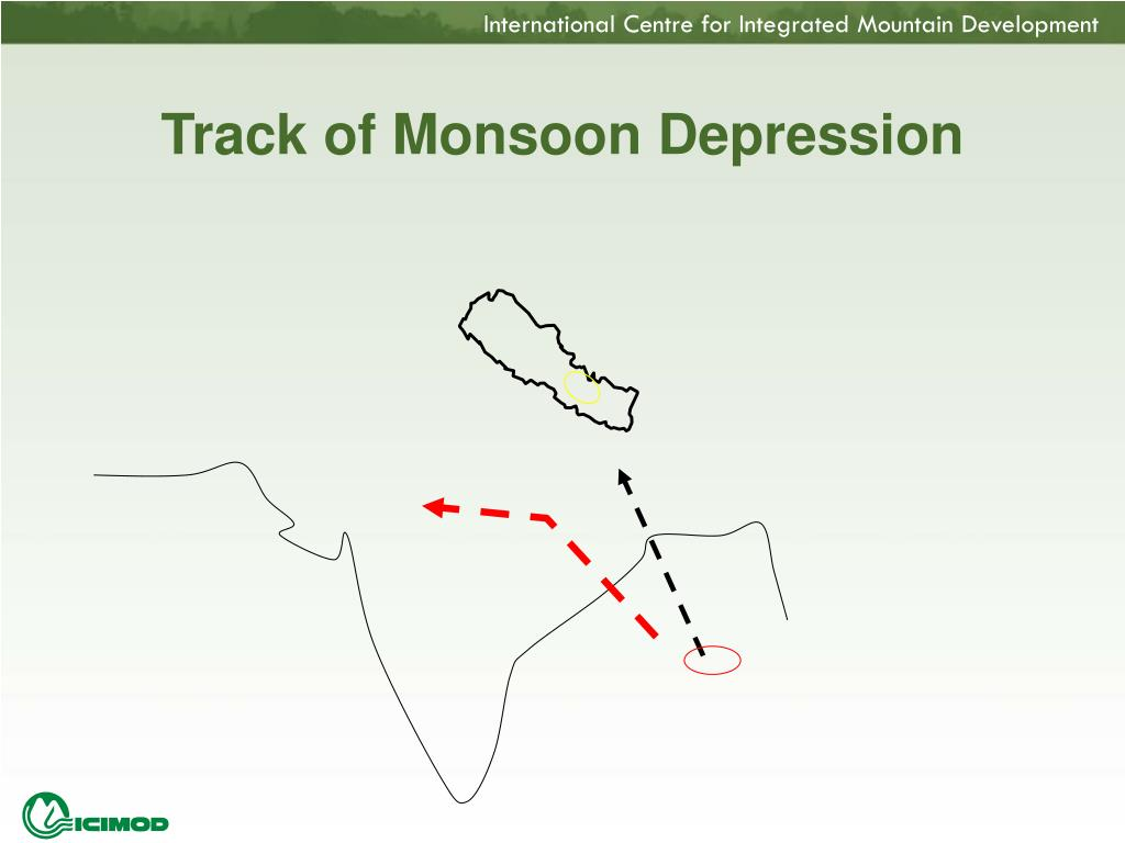 Track of Monsoon Depression