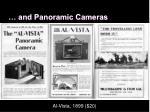 and panoramic cameras