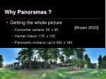 why panoramas4