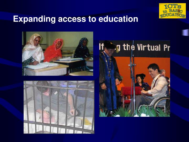 Expanding access to education