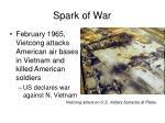 spark of war