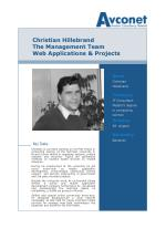 christian hillebrand the management team web applications projects
