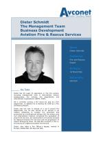 dieter schmidt the management team business development aviation fire rescue services
