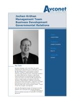 jochen kr han management team business development governmental relations