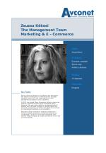 zsuzsa k kesi the management team marketing e commerce