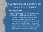 significance of landfills as sources of fossils2
