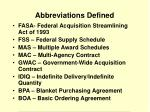 abbreviations defined